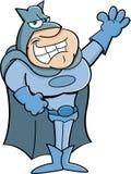 Super-herói dos desenhos animados Fotografia de Stock