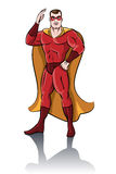 Super-herói ereto Fotos de Stock Royalty Free