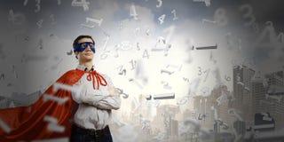 Super-herói seguro Fotos de Stock Royalty Free