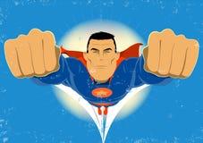 Super Hero royalty free illustration