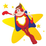 Super Hero Royalty Free Stock Photography