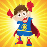 Super hero Boy. Stock Photo