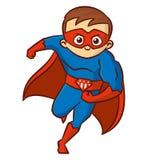 Superhero boy Cartoon character Royalty Free Stock Photo