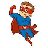 Superhero boy Cartoon character Stock Images