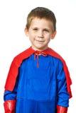 Super Hero Boy isolated Stock Image