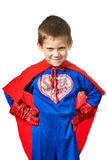 Super Hero Boy isolated Royalty Free Stock Photos