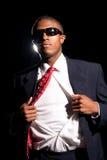 Super Hero Business Man Royalty Free Stock Image