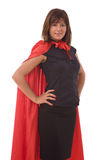 Super hero businesswoman Royalty Free Stock Photo