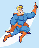 Super Hero Cartoon Stock Photo