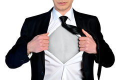 Super hero concept business Royalty Free Stock Photos