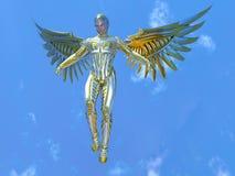 Super hero. 3D CG rendering of a super hero royalty free stock photos