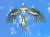 Super hero. 3D CG rendering of a super hero Stock Image