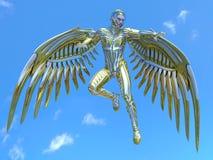 Super hero. 3D CG rendering of a super hero Royalty Free Stock Images
