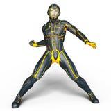 Super hero. 3D CG rendering of super hero Royalty Free Stock Images