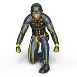 Super hero. 3D CG rendering of super hero Stock Photo