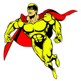 Super Hero Flying Stock Images