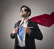 A super hero Royalty Free Stock Photos