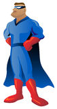 Super Hero Illustration Royalty Free Stock Photo