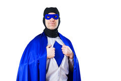 A super hero Stock Photo