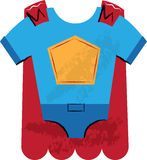 Super Hero Outfit Children's Illustration Royalty Free Stock Photo