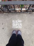 For Super Hero Powers Royalty Free Stock Photography