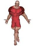Super Hero Ready Stock Image