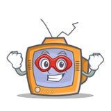 Super hero TV character cartoon object Stock Photos