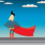 Super hero. vector illustration Stock Image