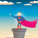 Super hero. vector illustration Royalty Free Stock Photography