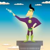 Super hero. vector illustration Stock Photo