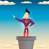 Super hero. vector illustration Stock Photography
