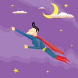 Super hero. vector illustration Stock Images
