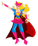 Super Hero Woman Stock Photos