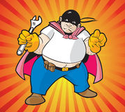 Super Hero Worker Royalty Free Stock Images