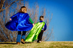 Super Heroes Royalty Free Stock Photography