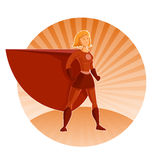 Super heroine Stock Photo