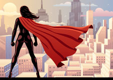 Super Heroine Watch 2 Royalty Free Stock Photography