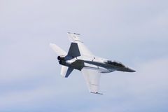 Super Hornet. At Air Show Royalty Free Stock Photo