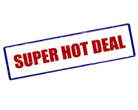 Super hot deal Royalty Free Stock Photos