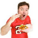 Super Hot Wings Stock Photography
