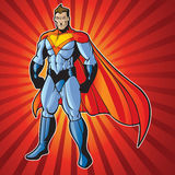 Super human man royalty free stock images