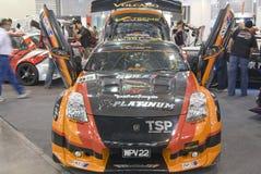 Super Import Night - Car Stock Image