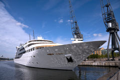Super jacht Fotografia Royalty Free