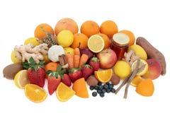 Super jedzenie dla Zimnego remedium zdjęcia royalty free