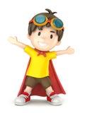 Super Jongen Royalty-vrije Stock Afbeelding