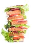 Super kanapka Zdjęcie Stock