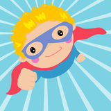 Super kid Royalty Free Stock Photography