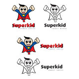 Super Kid Fancy Dress Stock Photos