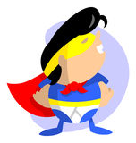 Super Kid Royalty Free Stock Images