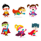 Super Kids Royalty Free Stock Photography